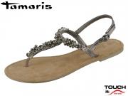 Tamaris 1-28152-22-915 pewter Leder