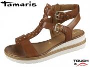 Tamaris 1-28227-22-305 cognac Leder