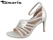 Tamaris 1-28303-22-101 white pearl Leder