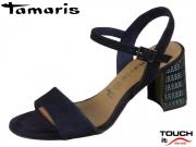 Tamaris 1-28359-22-805 navy Nubuk