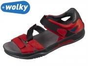 Wolky Riple Savana 0105030-500 red savana Leather