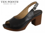 Ten Points Amelia 517016-101 black Leather