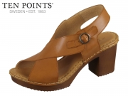Ten Points Amelia 3 517012-319 cognac Leather