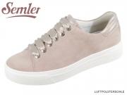 Semler Alexa A5015773945 rose puder Samtchevrau Metall Lamm