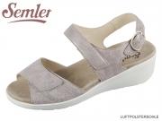 Semler Ramona R9045031028 panna Metall Velour