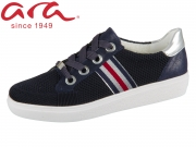 ARA New York Fusion4 12-14512-05 blau silber Wovenstretch Dustycalf Prem