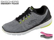 Skechers Stally 52957-GYBK grey