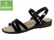 Ganter Sonnica 20 2814-0100 schwarz Dixilack-Leder