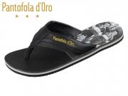 Pantofola d Oro Sardinia Slipper Uomo 10191060-25Y black Leder