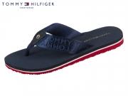 Tommy Hilfiger Flat Beach Sandal FW0FW03877-403 midnight