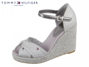 Tommy Hilfiger Iconic Elena Metallic Canvas FW0FW04080-018 light grey