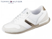 Tommy Hilfiger Iridescent Light Sneaker FW0FW04100-901 white rosegold
