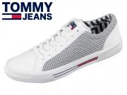 Tommy Hilfiger Textile City Sneaker EM0EM00199-100 white