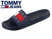 Tommy Hilfiger Flag Pool Slide EM0EM00284-403 midnight