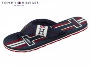 Tommy Hilfiger Badge Textile Beach Sandal FM0FM02076-403 midnight