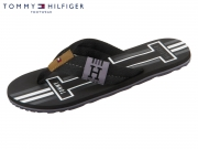 Tommy Hilfiger Badge Textile Beach Sandal FM0FM02076-990 black