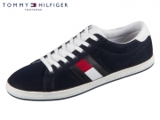 Tommy Hilfiger Essential Flag Detail Sneaker FM0FM0220-403 midnight