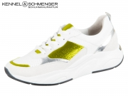 Kennel & Schmenger Ultra 91 19640.669 bianco yellow Suede Reflect Lamb