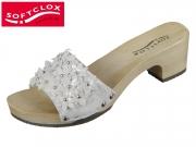 Softclox Kitti 3475-02 weiss silber hazelnut Shiny Cachmire