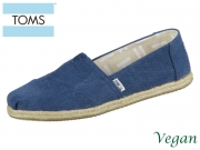 TOMS Alpargata 10009758 navy washed Canvas