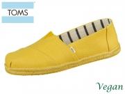 TOMS Alpargata 10013497 yellow Canvas
