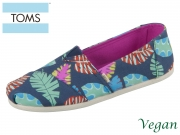 TOMS Alpargata 10013524 navy Canvas