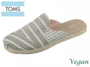 TOMS Nova 10013395 balck stripes Canvas
