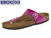 Birkenstock Gizeh 1012979 electric metallic magenta Birkoflor