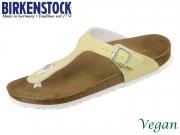 Birkenstock Gizeh 1016632 brushed vanilla Birkoflor