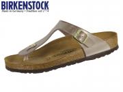 Birkenstock Gizeh 1012983 electric metallic taupe Birkoflor