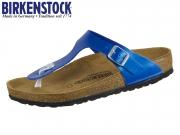 Birkenstock Gizeh 1012981 electric metallic ocean Birkoflor