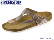 Birkenstock Gizeh WB 1005048 metallic copper Leder