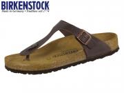 Birkenstock Gizeh 743831 oiled habana Nubuk Oiled
