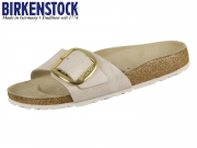 Birkenstock Madrid Big Buckle 1012888 washed metallic rose gold Nubuk
