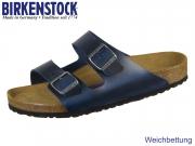 Birkenstock Arizona SFB 1013643 blue Leder