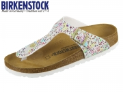 Birkenstock Gizeh Kids 1009933 oriental mosaic white Microfaser