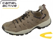 camel active Evolution 138.21-14 brown taupe intage PU Suede