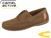 camel active Yacht 521.11-07 brandy nut Nubuk Burn