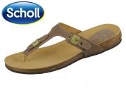 Scholl BIMINI 708361-50-91 hell braun Suede