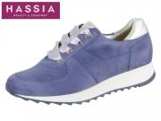 Hassia Madrid 7-301858-3476 jeans silber Samtziege Perlato