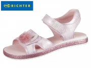 Richter 5301-544-3110 candy Metallicleder Kalbvelour