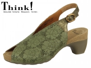 Think! TRAUDI 84578-61 salvia kombi Laser Capra Metallic