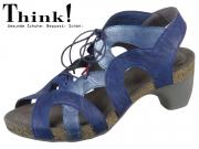 Think! Traudi 84576-90 indigo kombi Capra Rustico