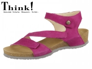 Think! DUMIA 84371-30 fuxia Nubuk Soft