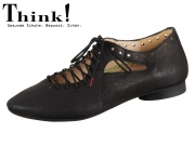 Think! GUAD 84284-00 schwarz Texano Calf Veg
