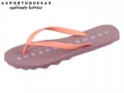 Asportuguesas Base woman P018000004 purple coral Rubber Stripe