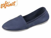 Softinos Olu 382-000 Olu382SOF navy Washed Leather