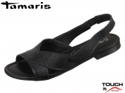 Tamaris 1-28134-32 001 black Leder