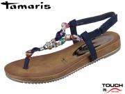 Tamaris 1-28180-32-890 navy combi Textil