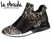 la strada 1800781-4691 biege leopard Lycra Satin